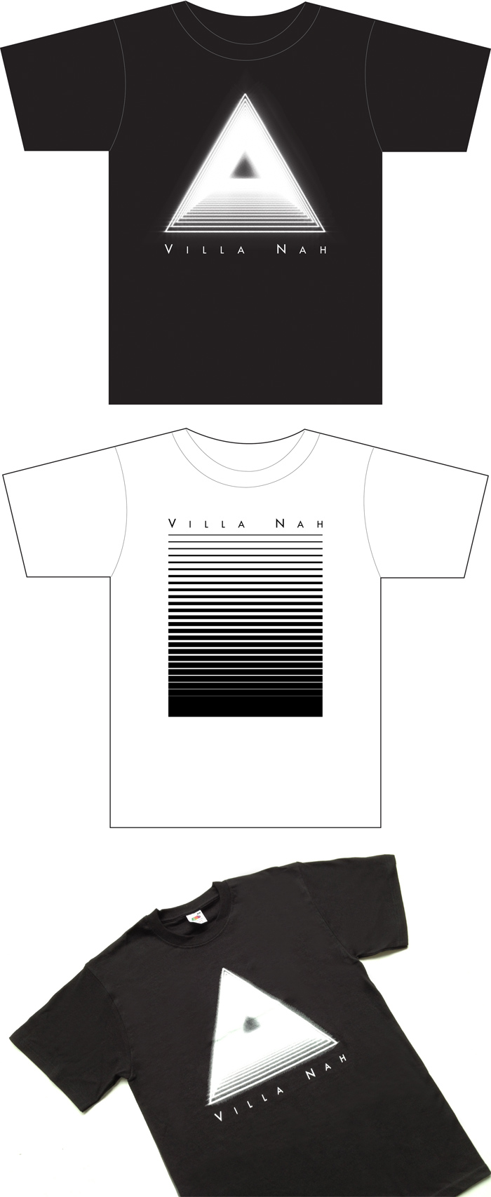 Villa Nah UK Tour T-Shirts